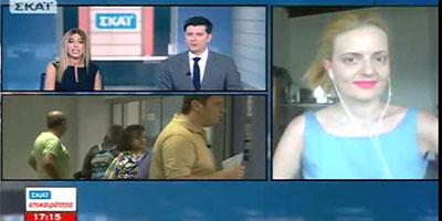 Η Άννα Κορσάνου στην εκπομπή