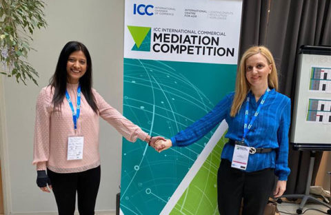 INTERNATIONAL MEDIATION COMPETITION OF ICC IN PARIS